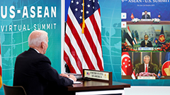 Biden joins ASEAN summit, Washington's first top level engagement with group in 4 years