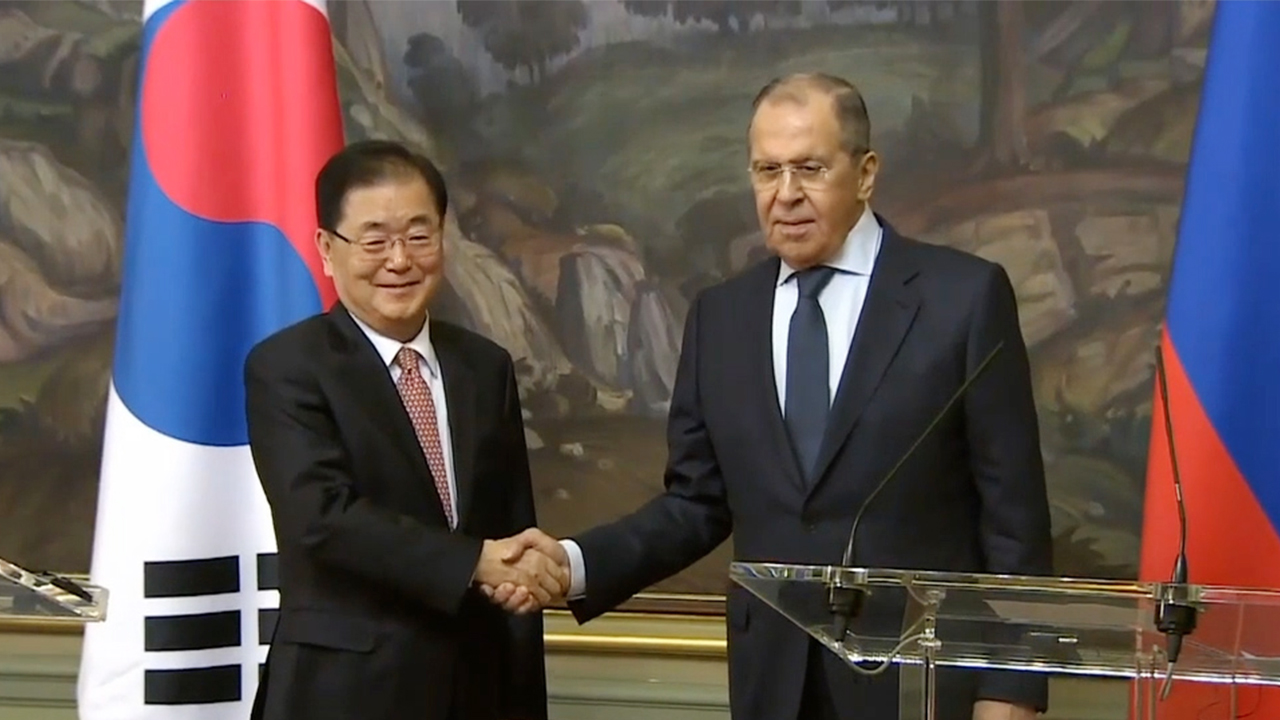 S. Korea, Russia FMs agree on need for early resumption of talks with N. Korea