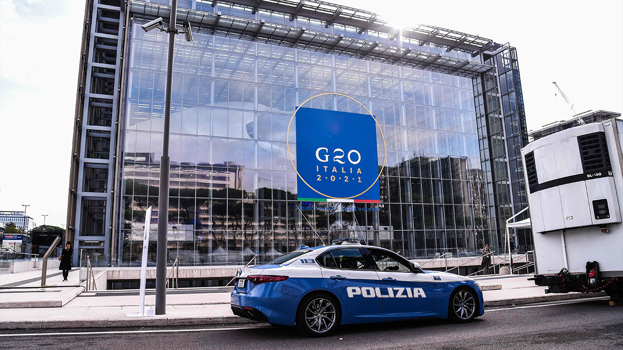 G20 Leaders' Summit in Rome to be held amid tight security