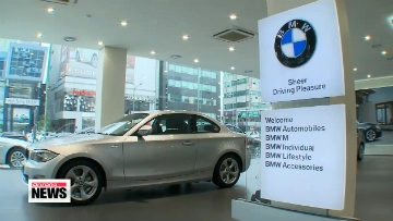Sales of imported cars in Korea hit record high in March