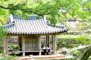 Private garden from Joseon Dynasty