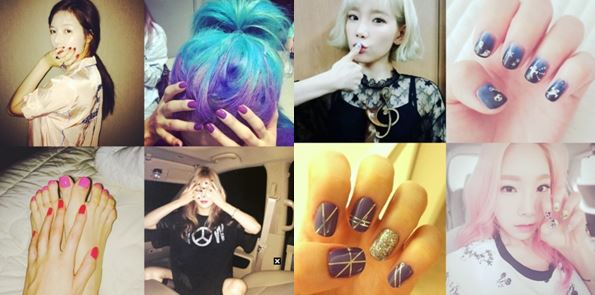 the nail trend this spring in Korea