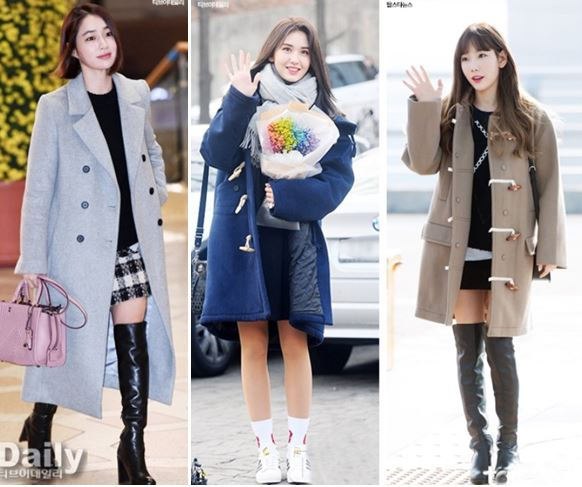 How to style dresses and skirts in winter for the brave hearted!