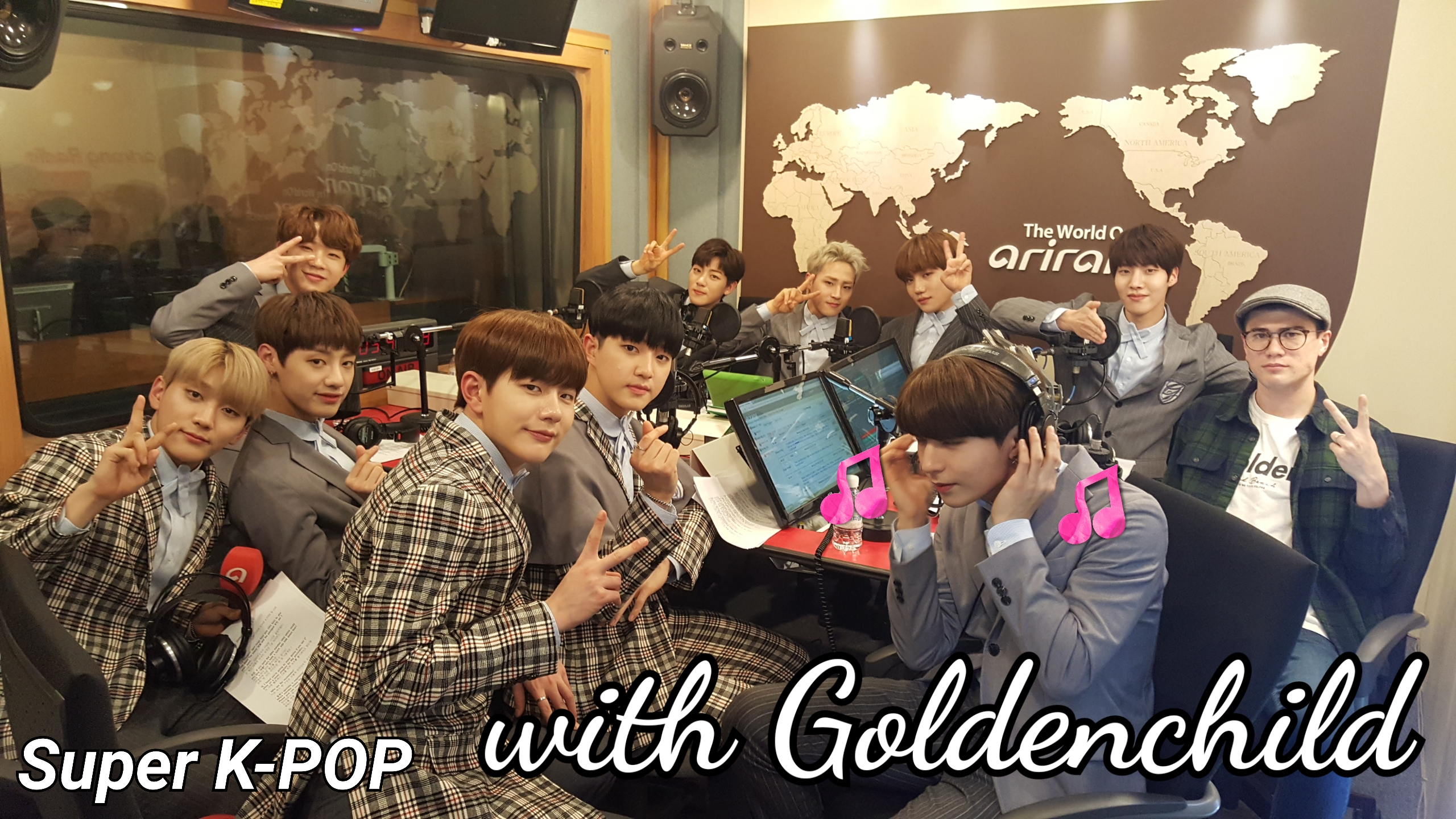 K-star & Live : Golden Child
