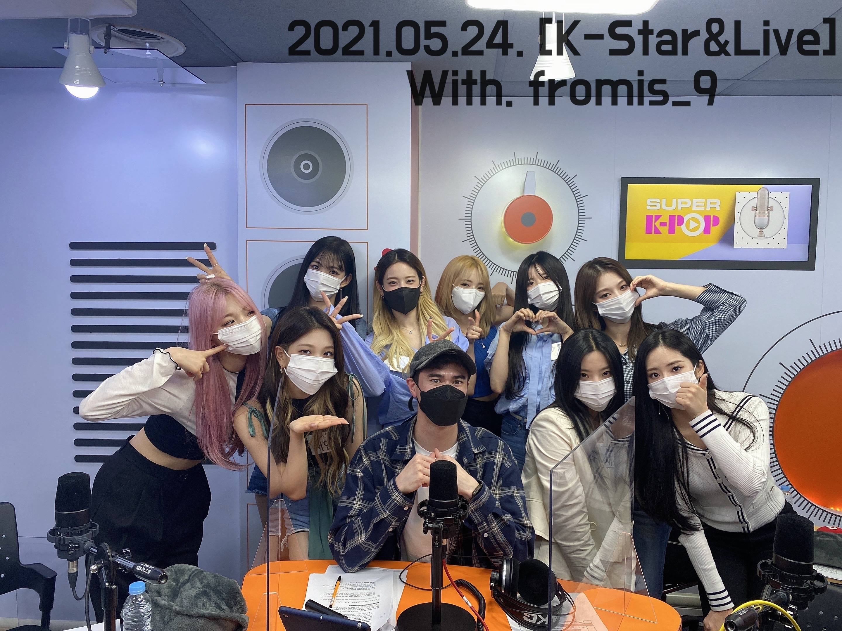 K-star & Live : fromis_9