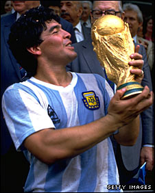 Football Legends from Around the World - Argentina- Part 1 - Diego Maradona