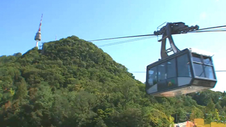 Cable cars, locks and a bird's eye view of seoul