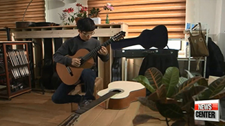 Passion in handmade acoustic guitars
