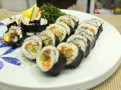 My Little Kitchen (S2) Ep4 - Dakyukgaejang , gimbap