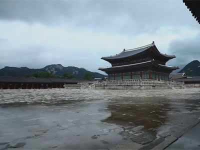 The Grand Heritage Ep11C1 Gyeongbokgung Palace, where austere beauty shines