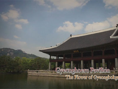 The Grand Heritage Ep12C2 Gyeonghoeru Pavilion, The flower of Gyeongbokgung Palace