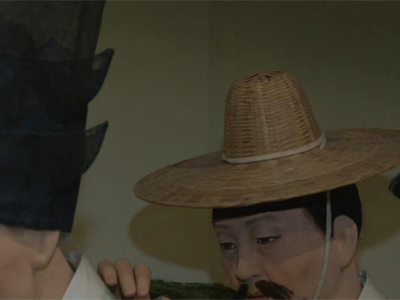 The Grand Heritage Ep41C2 The genre paintings by Kim Hong-do
