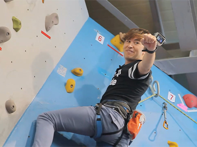 Tour vs Tour Ep5C6 Tina and Nasim decide to try their hand at climbing at a c...