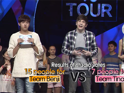 Tour vs Tour Ep6C9 Final winner Team Benji