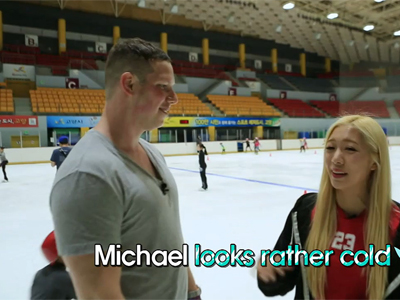 Tour vs Tour Ep10C3 Tina and her partner Michael also go to an ice rink, but ...