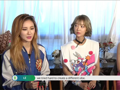 Pops in Seoul Ep3042C3 EXID Interview