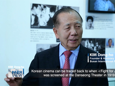 Kim Dong-ho, honorary festival director at the Busan International Film Festival, main player in the 20 years of BIFF hi...