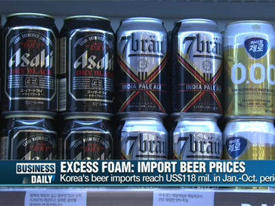 Business Daily Ep168C1 Excess foam: import beer prices