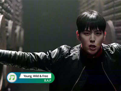 Pops in Seoul Ep3043C5 B.A.P (Young, Wild & Free)