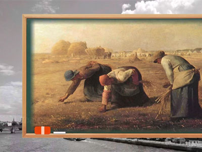 Join Us Korea Ep23C3 Today's Picture - Jean-Francois Millet's m'The Gleaners'