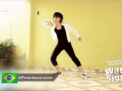 "Showbiz Korea _ TEEN TOP ""Warning Sign"" Cover Dance _ Ep1283"