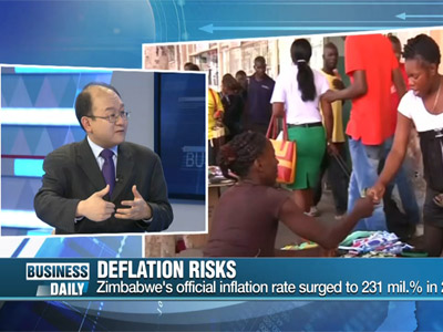 Business Daily Ep221C3 World struck by deflation fears