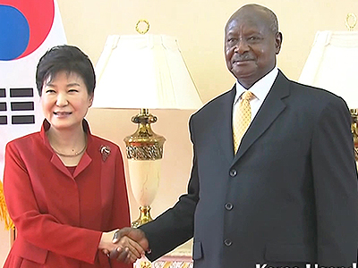 UPFRONT Ep113 - Achievement of President Park's Visit to Africa