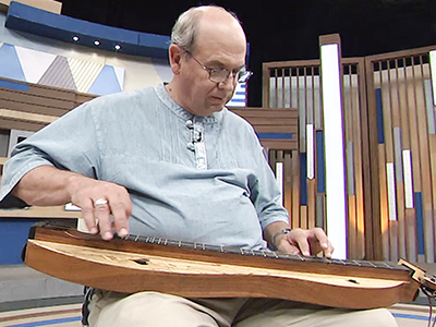 Bill and Susan McFarland, the American mountain dulcimer players Ep215