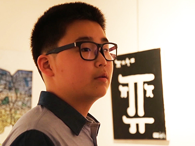 Going Global _ A 13-year-old artist's solo exhibition _ Ep74