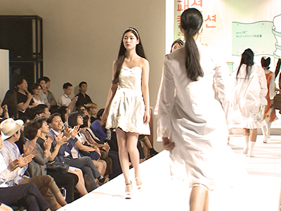 Fantastic designs on the runway...... by high school students!.