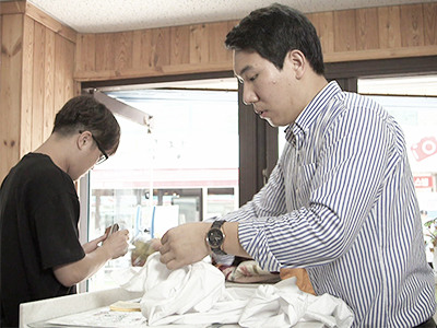 Young entrepreneur and CEO of Cheongchun Laundry Lee Ki-tae