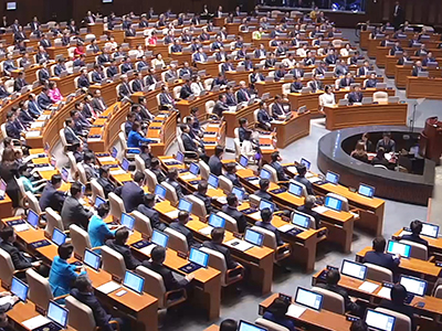 Upfront Opening of the 20th National Assembly in Korea