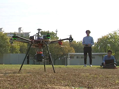 InfoScope Drones and Precision Digging Help with Rescue Efforts