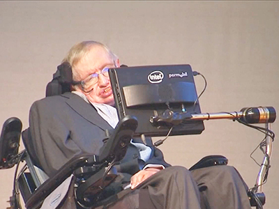 InfoScope Hawking: Space Travel Vital for Survival of Humanity