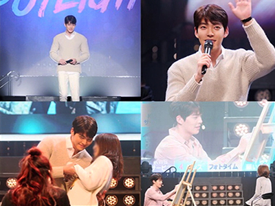 Showbiz Korea _ KIM WOO-BIN'S SUCCESSFUL FIRST FAN MEET IN JAPAN