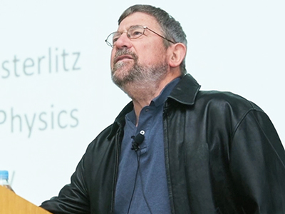 The Innerview 2017 Michael Kosterlitz Michael Kosterlitz, the 2016 Nobel Laur...