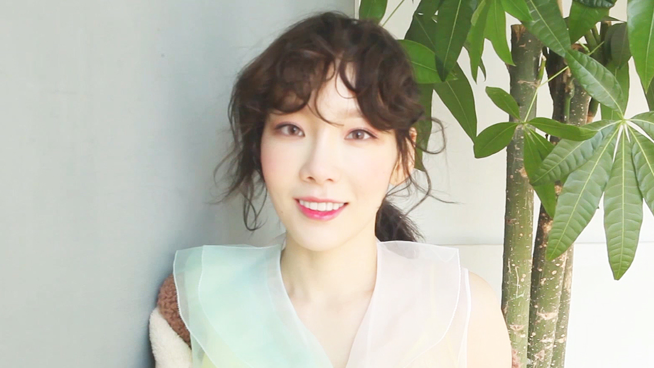 [Pops in Seoul] Taeyeon (Make Me Love You) M/V Shoot