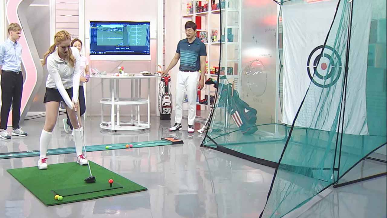 [Prosumer LAB 101] Golf Competition in Studio with Colored Golf Ball