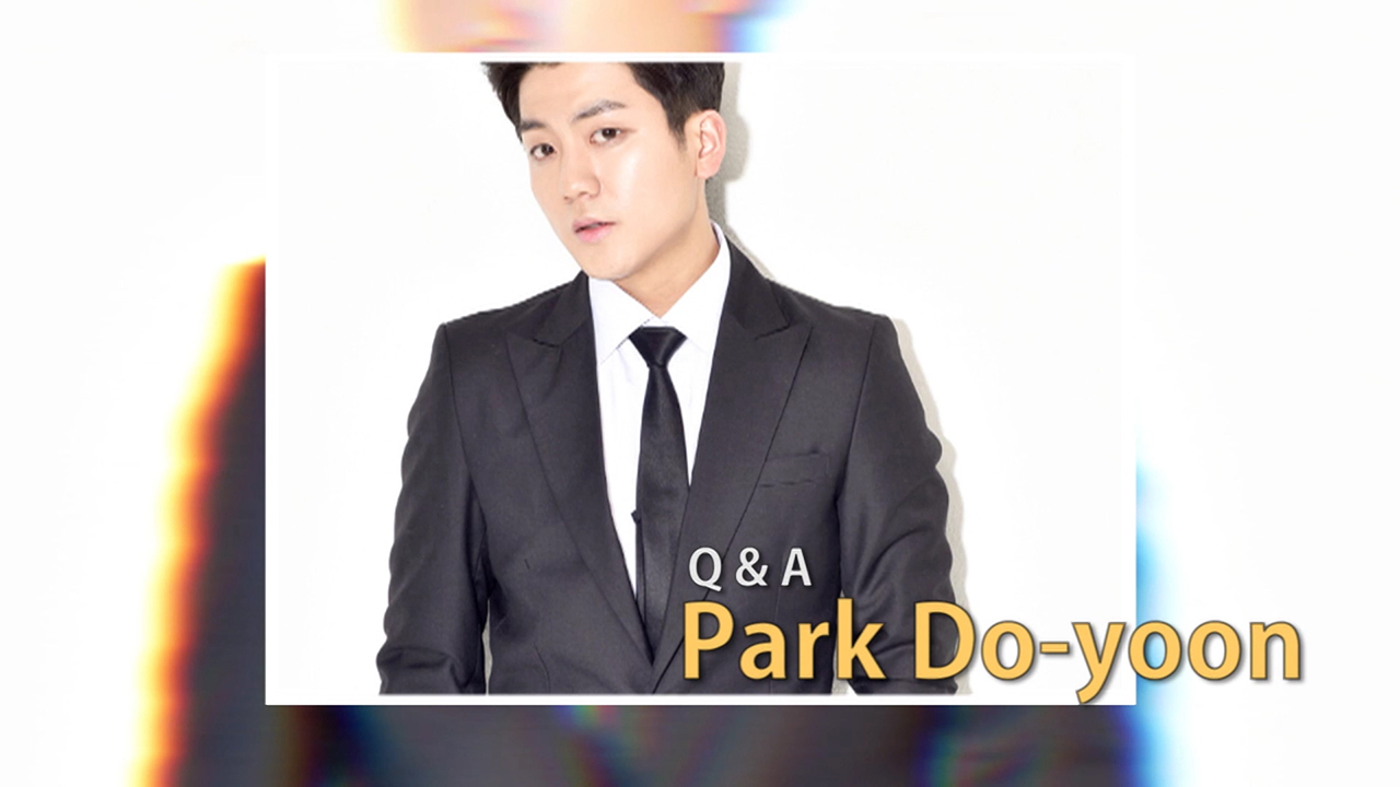 [Pops in Seoul] Park Do-yoon Q&A
