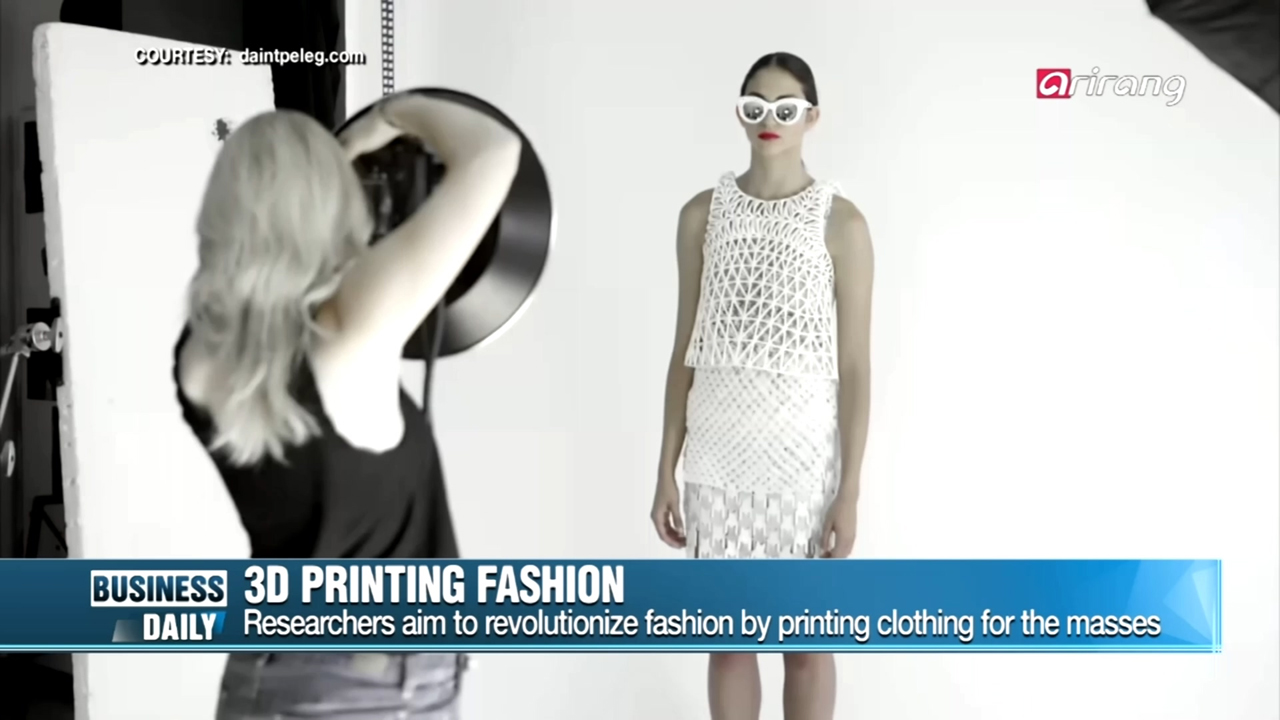 [Business Daily] 3D Printing fashion