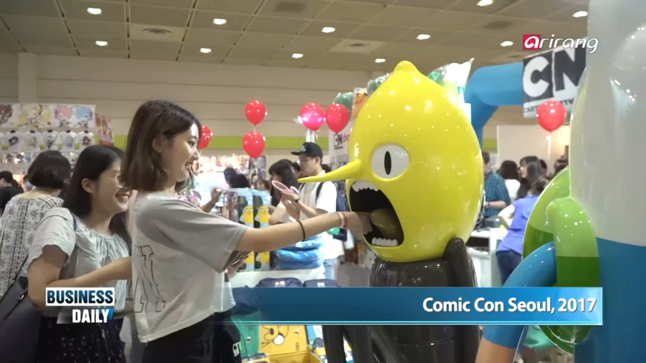 [Business Daily] Comic Con Seoul 2017