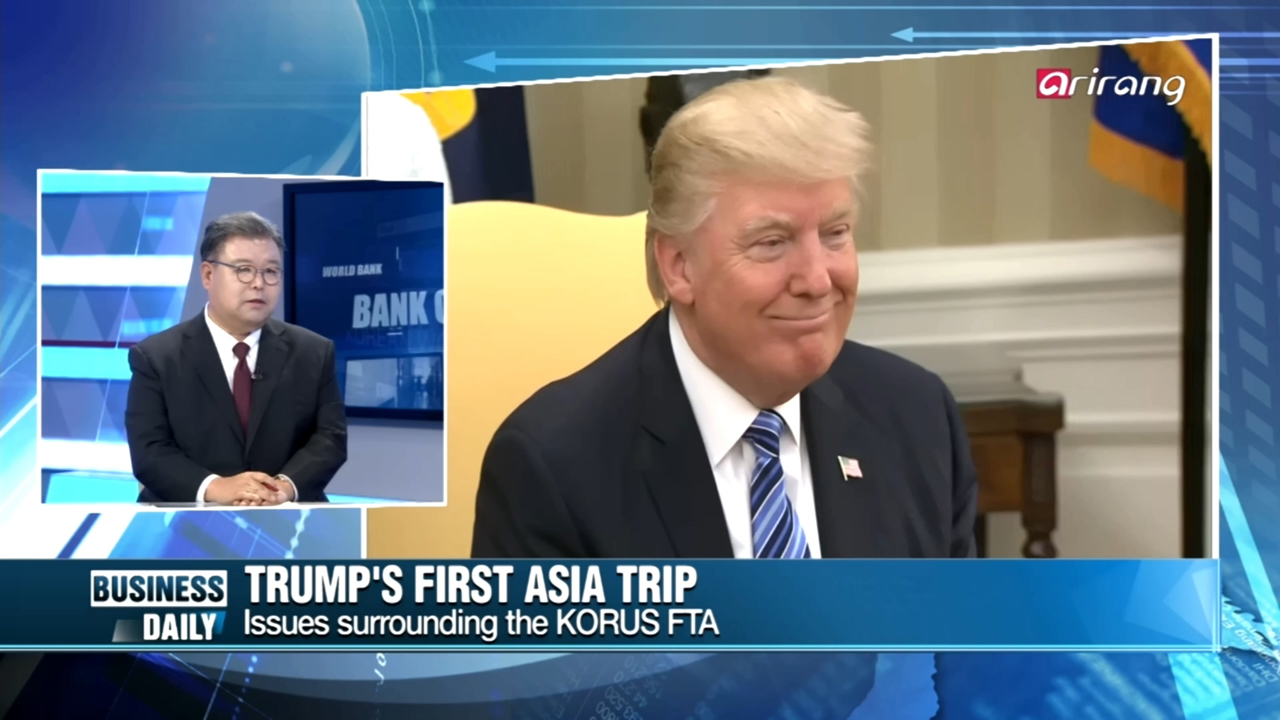 [Business Daily] Trump's Asia tour