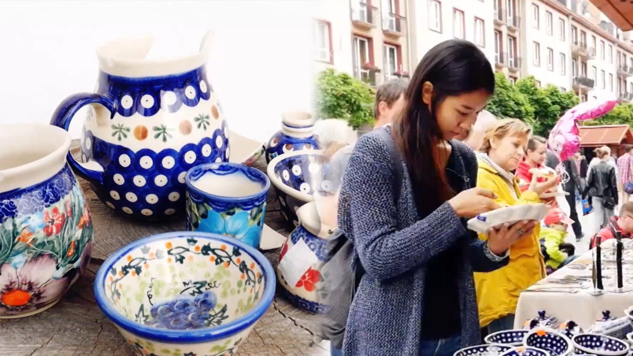 [Globetrotters] Polish pottery maker Part.1