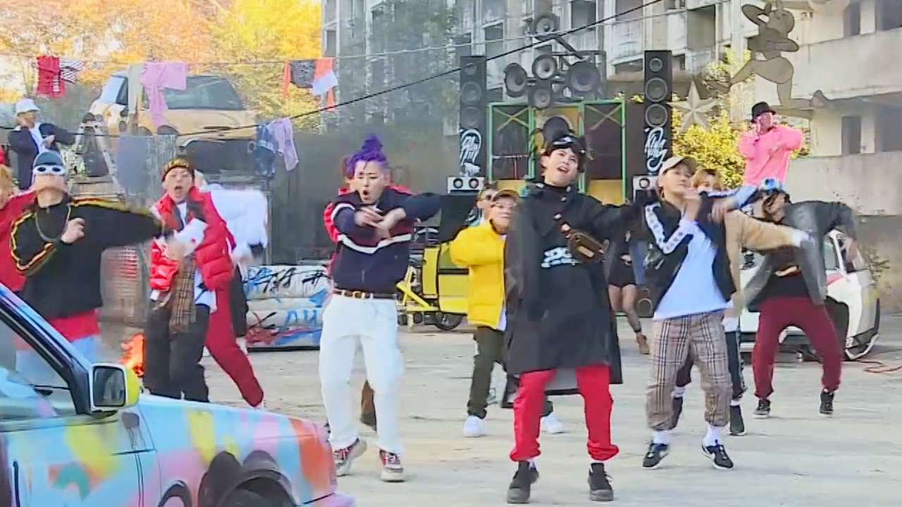[Pops in Seuol] Block B(블락비) _ Shall We Dance(SHALL WE DANCE) _ MV Shooting Sketch