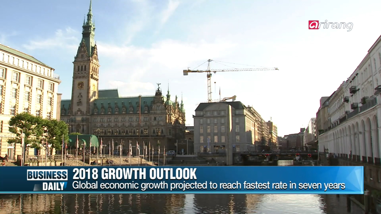 [Business Daily] Global growth rate 4% next year?