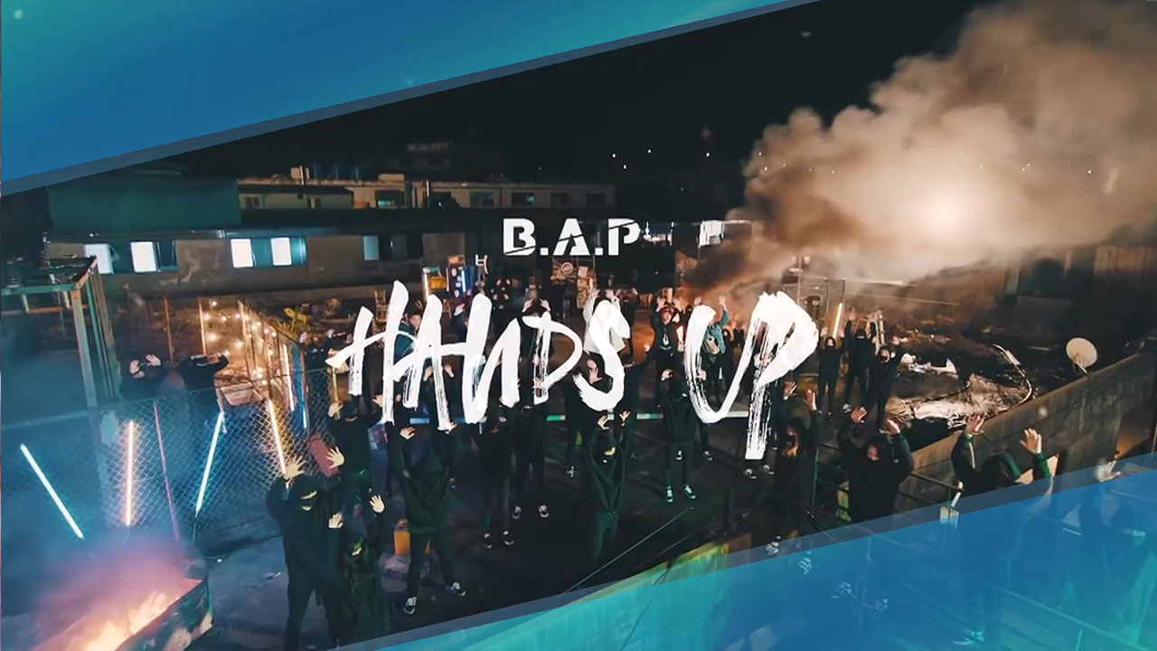 [Pops in Seoul] B.A.P (비에이피) HANDS UP (핸즈 업) MV Shooting Sketch