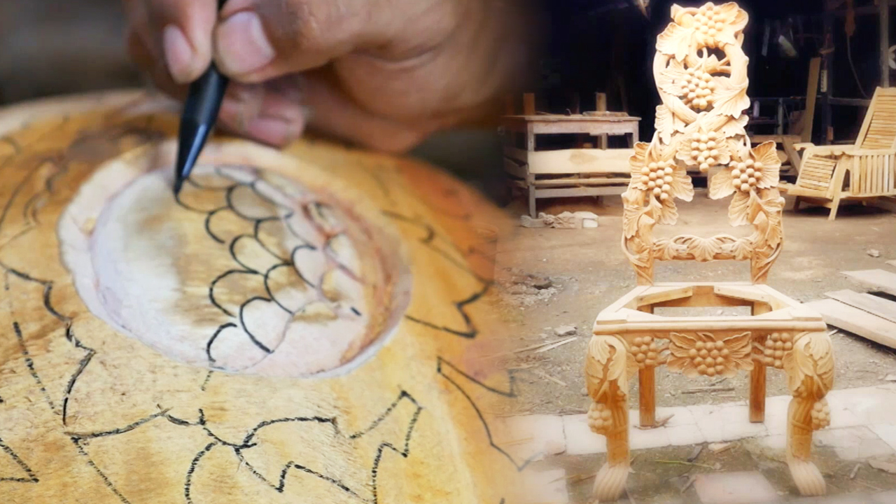 [Globetrotters] Journey to Explore 3D Wood Furniture Sculpture of lndonesia part 3