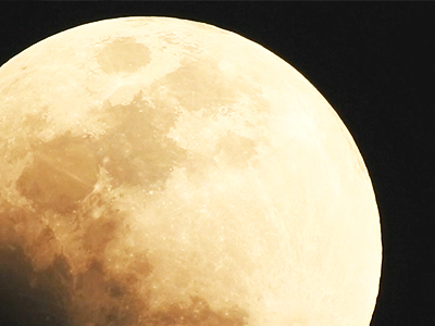'Super Blue Blood Moon' Crosses Night Sky
