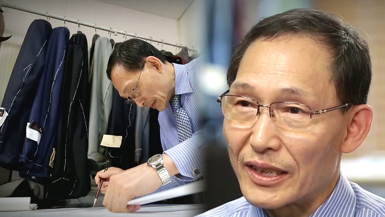 [4 Angles] Dignity of Korean Gentlemen: Chong Ro Tailor with 100 Years of His...