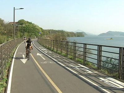 Cycle Path In Yangpyeong